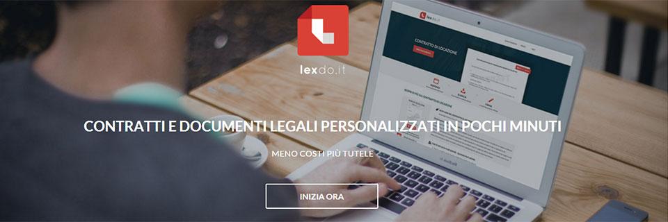 Lexdo it, la startup dedicata alla contrattualistica online