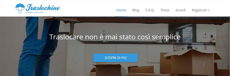 Intervista a Traslochino, la uber dei traslochi.